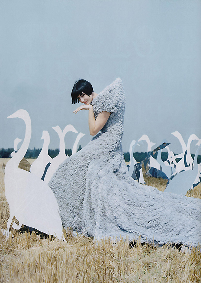 Erin O\'Connor by Tim Walker for Vogue