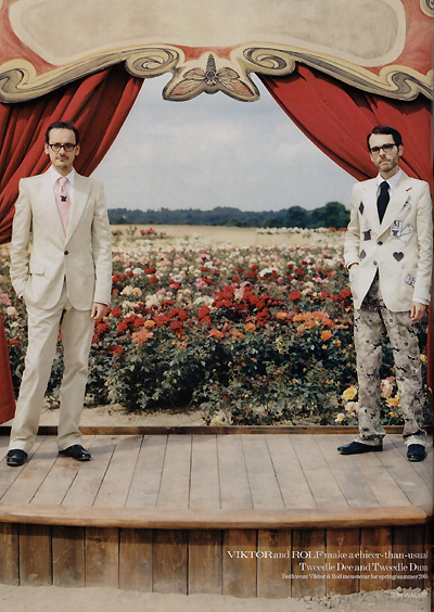 Viktor & Rolf by Tim Walker for Vogue