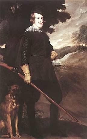 Dom Filipe III, King of Portugal by Velázquez