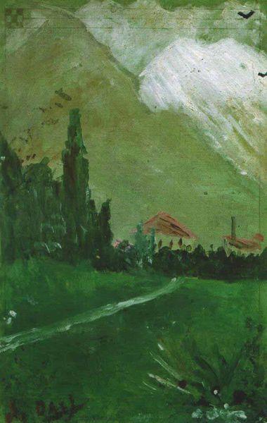Salvador Dali Landscape near Figueras