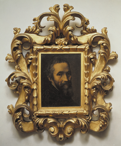 Marcello Venusti. Portrait of Michelangelo, post-1535. Oil on canvas. 36 x 27 cm. Casa Buonarroti, Florence